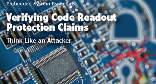 Verifying Code Readout Protection Claims