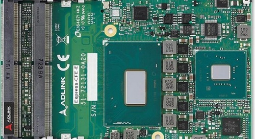 COM Express Type 6 Card Sports 8th Gen Core or Xeon Chips