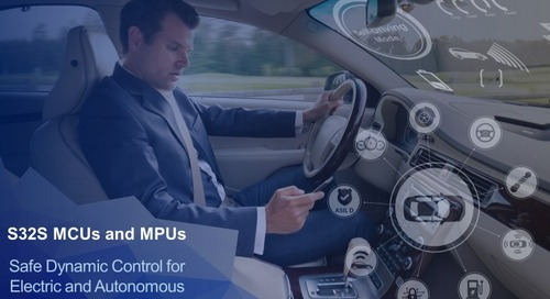 MCU/MPUs Target Next-Gen Electric and Autonomous Vehicles