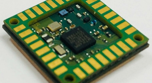 GNSS Modules Enable Low-Power Location-Based IoT