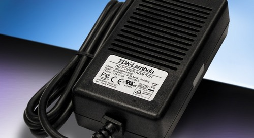 Medical External Power Supplies Meet Efficiency Standards