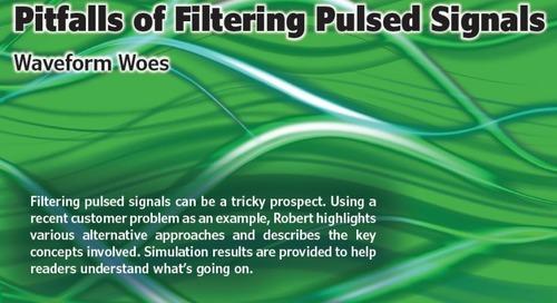 Pitfalls of Filtering Pulsed Signals