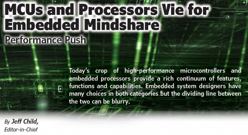 MCUs and Processors Vie for Embedded Mindshare
