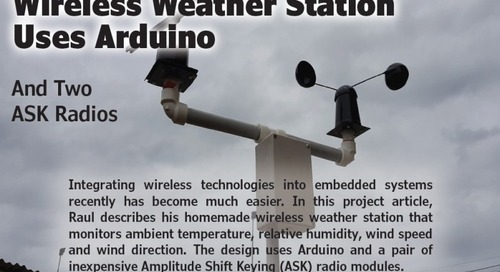 Wireless Weather Station  Uses Arduino