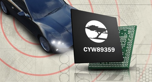 Pioneer Chooses Cypress Wi-Fi/ Bluetooth IC for Infotainment System
