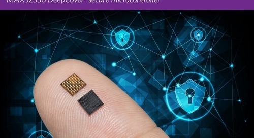 Compact MCU Offers Enhanced Security Features