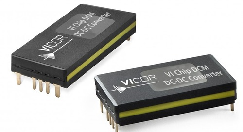 DC-DC Converter Family Adds Tighter Voltage Regulation