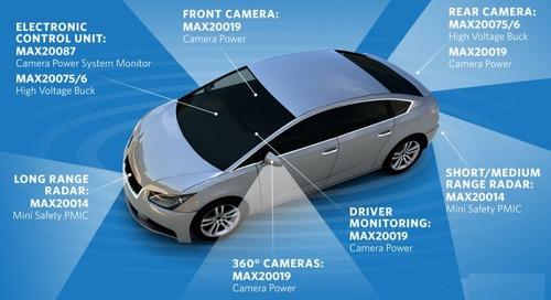 PMICs Enable Optimized Power for Automotive ADAS