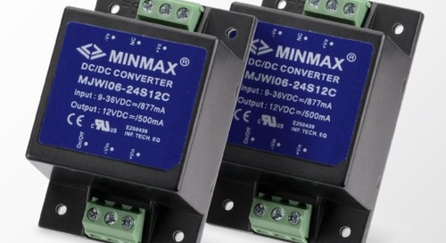 Fully Encapsulated DC-DC Converters Meet Rugged System Needs