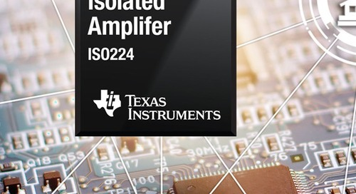 Reinforced Isolated Amplifier Boasts High Precision