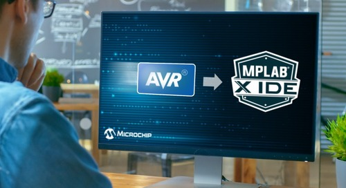 AVR Microcontrollers Get MPLAB X IDE Support