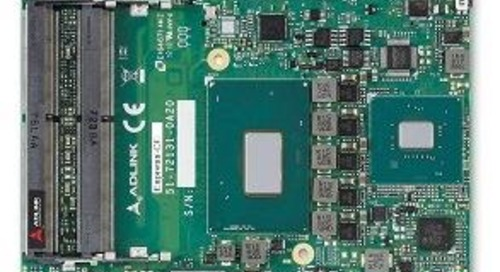 Quad Core i3-Based Type 6 COM Express Board