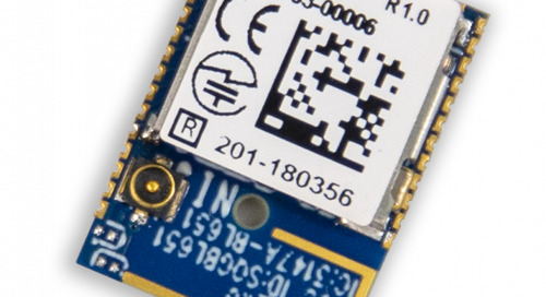 Module Meets Needs of Simple Bluetooth Low Energy Systems