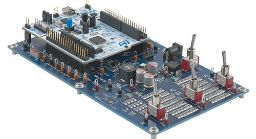Firms Team to Teach Implementing Power Supplies on STM32 MCUs