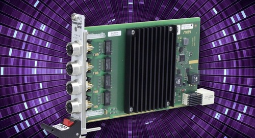 CompactPCI Serial Board Delivers Four Gbit Ethernet Channels