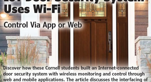 IoT Door Security System Uses Wi-Fi