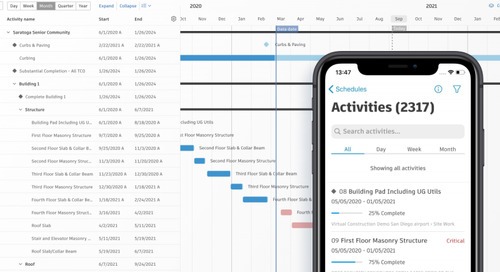 Keep Projects on Track with the New Schedule Tool in Autodesk Build