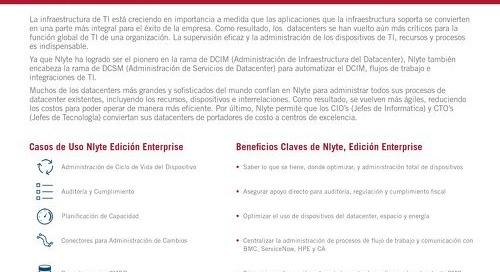 Nlyte Enterprise Edition Spanish Version