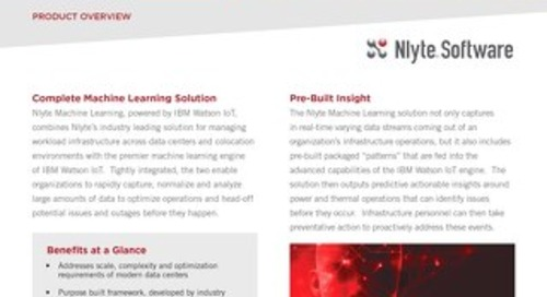 Nlyte Machine Learning Powered by IBM Watson IoT