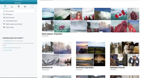 Destination Canada launches the world's first national UGC network, powered by CrowdRiff