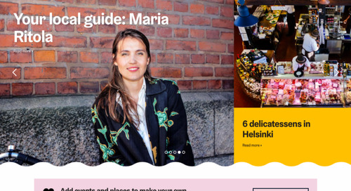 Why Helsinki Marketing's Inventive New Website Gets All Its Content from Locals