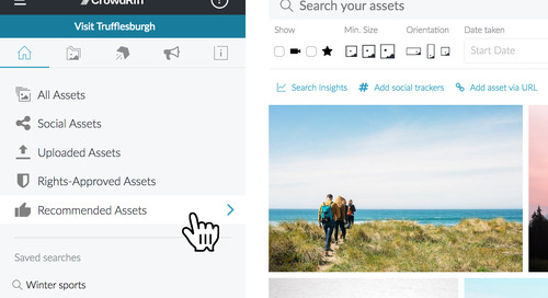 Introducing Recommendations: Visual Content Suggestions Tailored to Your Team
