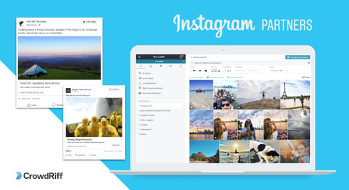 CrowdRiff joins Instagram Partner Program; one of the first travel-focused Creative Platform Partners