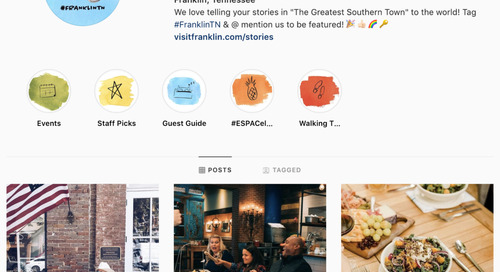 How destinations big and small can gain traction on social media