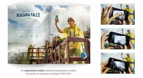 How Destination Niagara USA Uses AR in their Visitor Guide to Fully Immerse Travelers