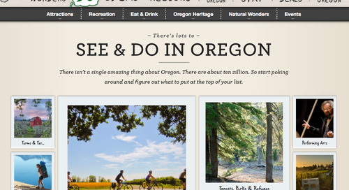 How Travel Oregon Reduced Mobile Load Time by Half with a Key Web Redesign
