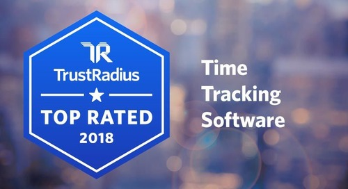 Paycor Named Top Rated Time Tracking Software for 2018 on TrustRadius