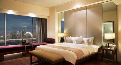 Boutique hotels in Jakarta: Alila Jakarta is a modern city retreat perfect for a romantic weekend staycation