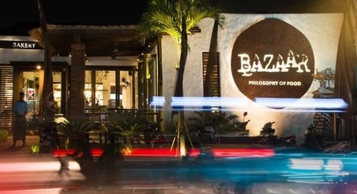 Bazaar:  Middle Eastern dining with an exotic touch
