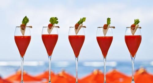 Sunset o'clock alert!  Bali's best cocktails