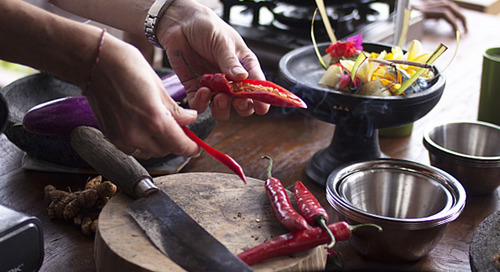Cooking up a storm in Bali