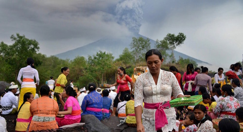 Bali Volcano: All you need to know about the Mount Agung eruption, from flight cancellations and travel insurance, to where to find live upd