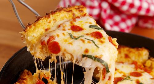 Ternyata, Pizza Menu yang Baik untuk Sarapan!