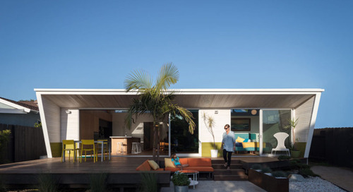The Beach Cottage: A 1957 Beach House in Southern California Goes Modern