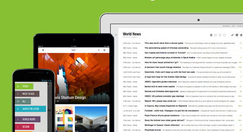 Announcing the New Feedly Mobile