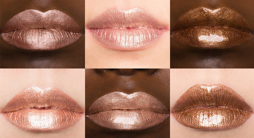 3 Multidimensional Lip Looks Inspired by Our Favorite Metals