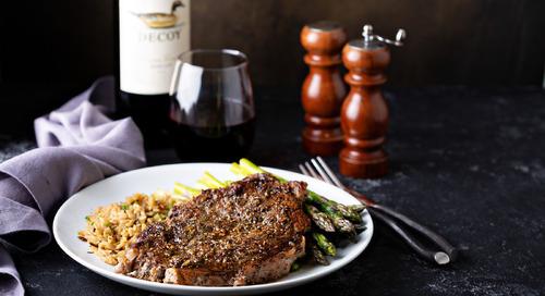 Recipe: Peppercorn Ribeye Steak