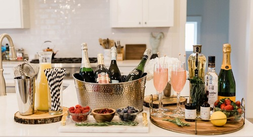 How to Create the Perfect Champagne Bar