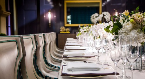 Atlas Hosts Ruinart Champagne Dinner This January