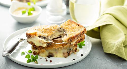 Recipe: Mushroom Grilled Cheese Sandwich
