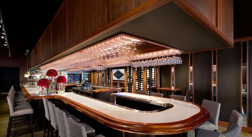 Stem Wine Bar Partners with Flowers Vineyards & Winery for an Intimate Valentine's Day Dinner