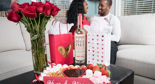 Valentine's Day With Belle Isle Moonshine