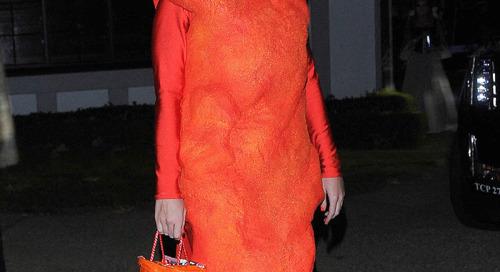 Katy Perry Gemar Tampil Dalam Kostum Makanan