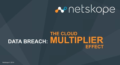 Data Breach-Cloud Multiplier Effect