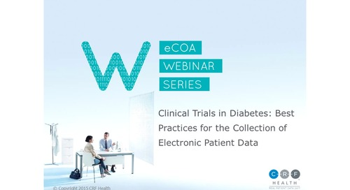 Best Practices for Collecting eCOA Data in Diabetes Trials