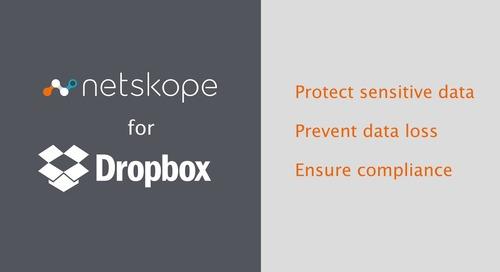 Netskope for Dropbox - Product Demo